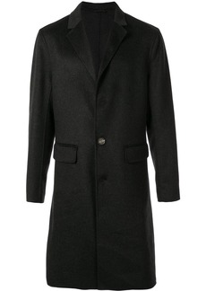 Calvin Klein tailored single-breasted coat