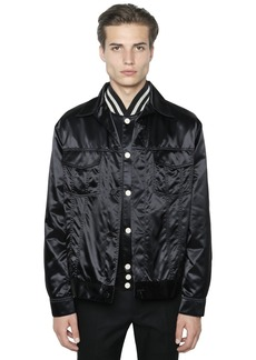 Calvin Klein Techno Satin Shirt Jacket