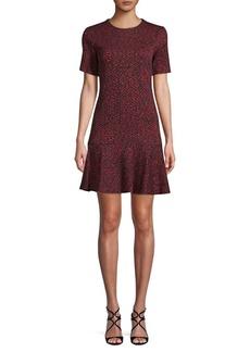 Calvin Klein Textured A-Line Dress