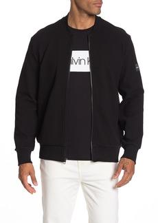 Calvin Klein Textured Varsity Jacket