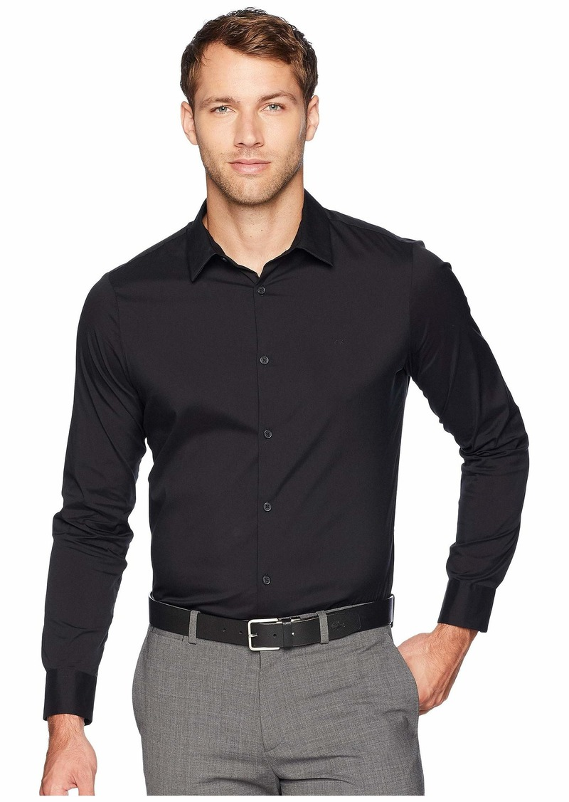 Calvin Klein The Stretch-Cotton Shirt