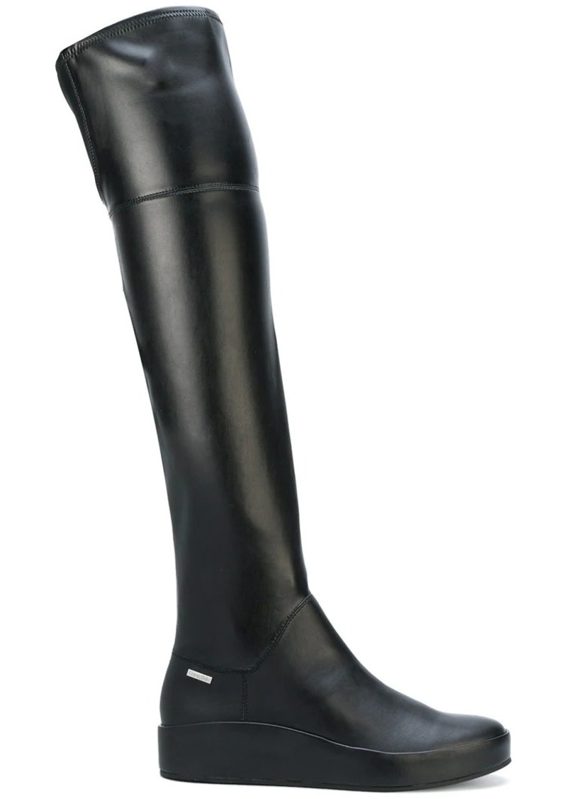 Calvin Klein thigh-high boots