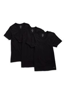 Calvin Klein 3-Pack Cotton V-Neck Tees