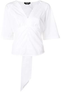 Calvin Klein tied back blouse