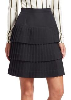 Calvin Klein Tiered Ruffle Skirt