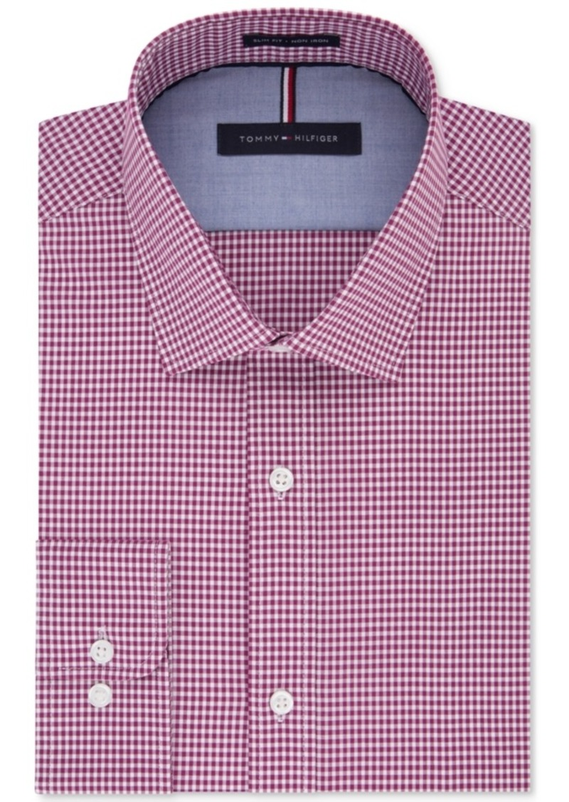 Tommy Hilfiger Tommy Hilfiger Mens Soft Touch Slim Fit Non Iron