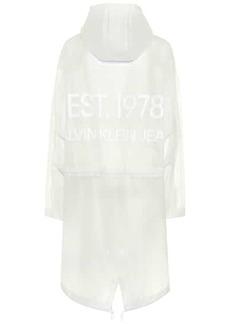Calvin Klein Transparent raincoat