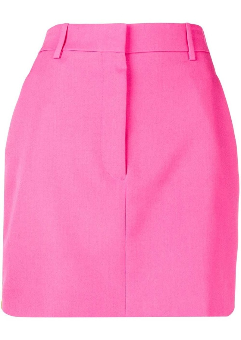 Calvin Klein tuxedo stripe mini skirt