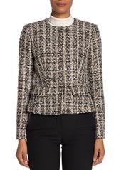 Calvin Klein Tweed Button Up Jacket