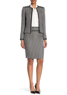 Calvin Klein Tweed Pencil Skirt