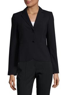 Calvin Klein 2-Button Blazer