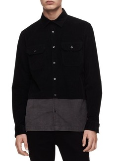 Calvin Klein Two-Tone Shirt