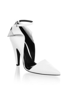 Calvin Klein Two-Toned Ankle-Strap Pumps