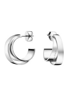 Calvin Klein Unite Layered Hoop Earrings