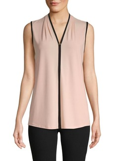 Calvin Klein V-Neck Sleeveless Top