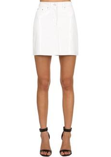 Calvin Klein Vinyl Mini Skirt