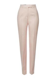 Calvin Klein Virgin Wool Pants with Stripes