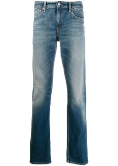 Calvin Klein washed denim jeans