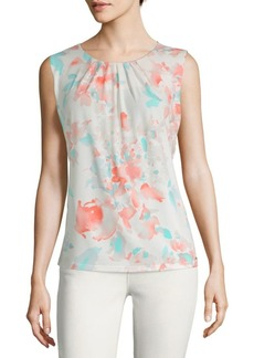 Calvin Klein Watercolor Sleeveless Top