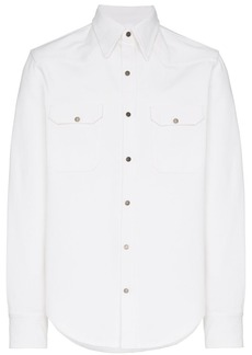 Calvin Klein Western long sleeve collar shirt