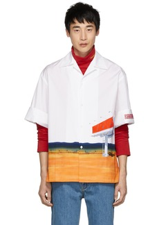 Calvin Klein White Billboard Shirt