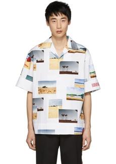 Calvin Klein White Postcard Shirt