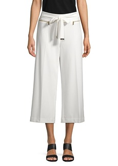 Calvin Klein Wide-Leg Cropped Pants