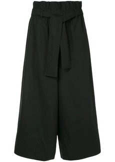 Calvin Klein wide leg suiting trousers