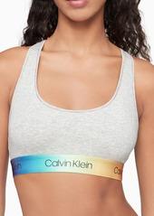 Calvin Klein Modern Cotton Pride Unlined Bralette