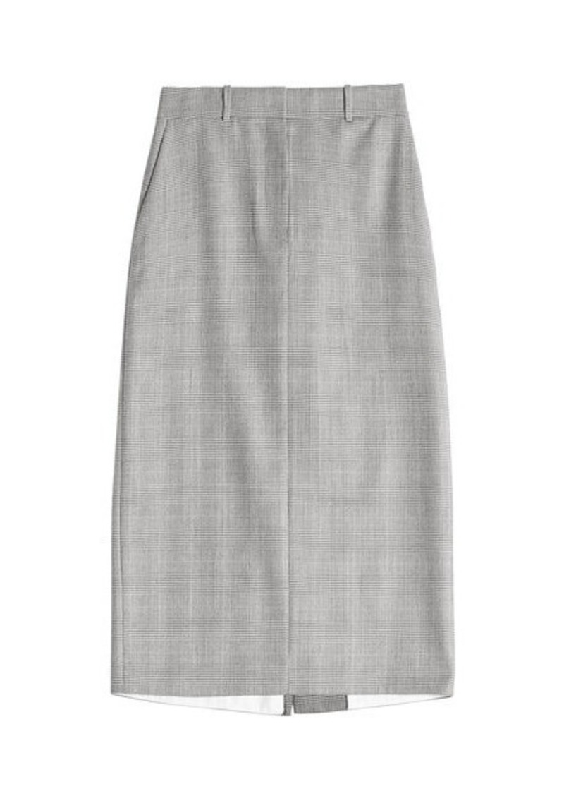 Calvin Klein Wool Pencil Skirt