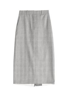 Calvin Klein Wool Pencil Skirt