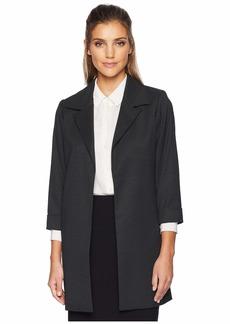 Calvin Klein Woven Open Front Jacket