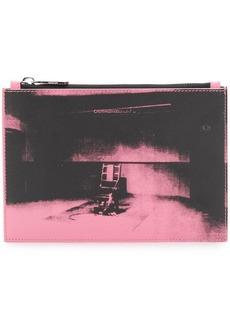 Calvin Klein x Andy Warhol Foundation Little Electric Chair clutch bag