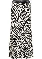 Calvin Klein zebra print skirt