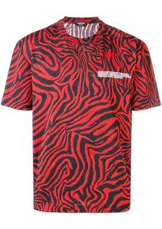 Calvin Klein zebra print T-shirt