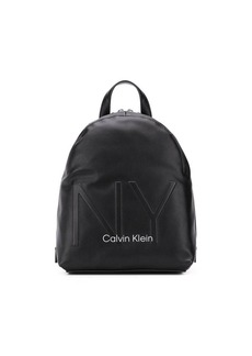 Calvin Klein zip-around logo backpack