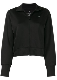 Calvin Klein zip front track jacket