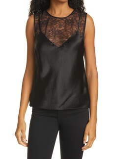 CAMI NYC Cleo Lace Silk Camisole