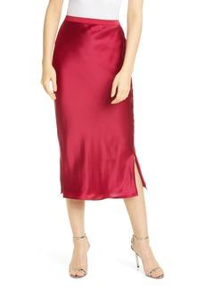 CAMI NYC The Jessica Silk Slip Skirt