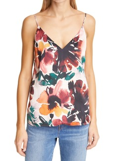 CAMI NYC The Olivia Autumn Floral Silk Camisole