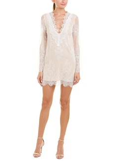 Cami NYC Paper Crown Lace Shift Dress