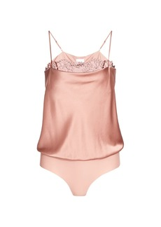 Cami NYC Romy Silk-Blend Lace Camisole Bodysuit