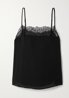 Cami NYC The Behati Lace-trimmed Silk Crepe De Chine Camisole