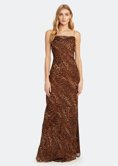 Cami NYC The Carla Animal Silk Chiffon Maxi Dress - XXS - Also in: L, S, XL, XS