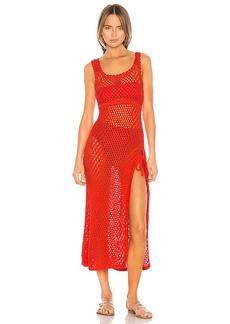 Camila Coelho Athena Crochet Dress