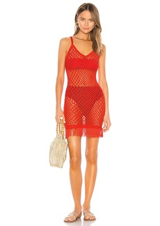 Camila Coelho En Route Crochet Dress