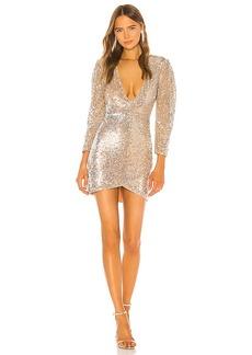 Camila Coelho Solange Embellished Mini Dress