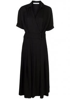 Camilla and Marc belted V-neck wrap midi dress