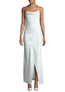 Camilla and Marc Bowery Cowl-Neck Slip Gown