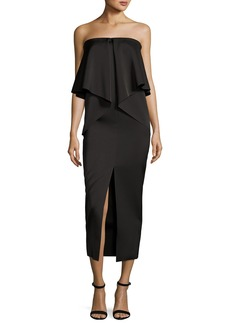 CAMILLA AND MARC Dicentra Satin Popover Gown